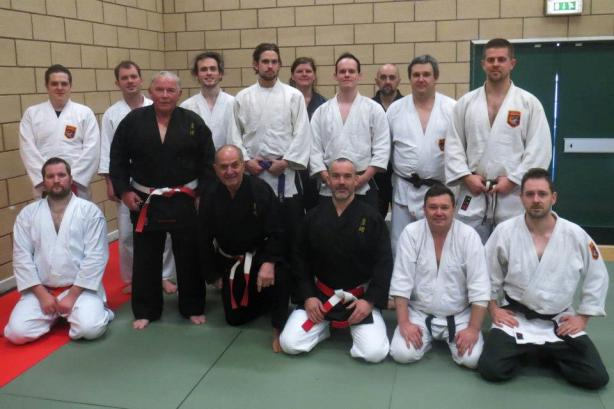 Great turnout for the Annual BKJJA Seminar in Stoke