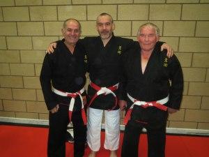 L-R Costas Panayi, Chris Stone & Reg Stone